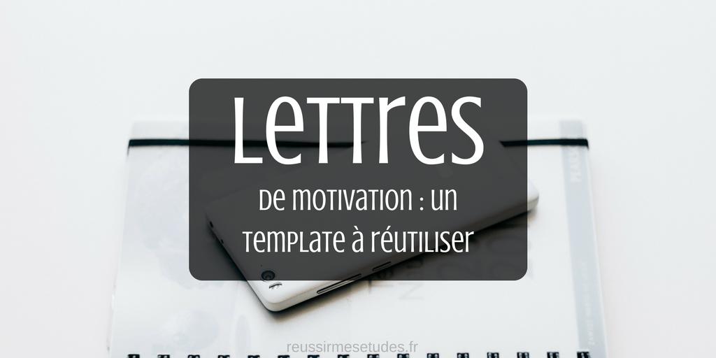 Faire une bonne lettre de motivation