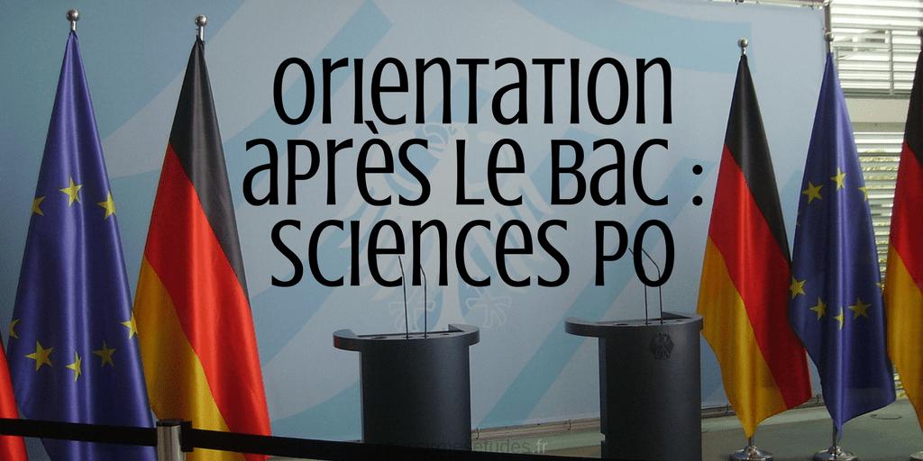 Orientation après le bac : Sciences Po