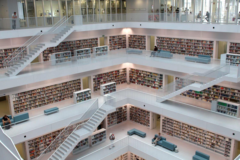La bibliothèque, un des meilleurs endroits pour réviser