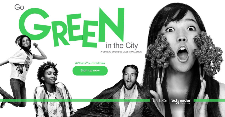 #WhatsYourBoldIdea Concours Go Green in the City pour ingénieur·e·s